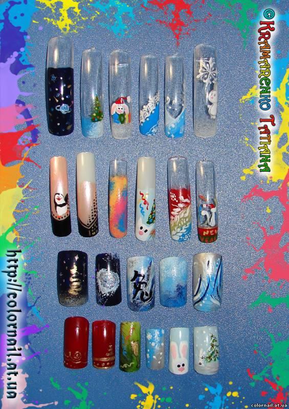 Ногти дизайн для школы